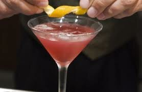 Affair Cocktail Recipe martini Schnapps strawberry schnapps