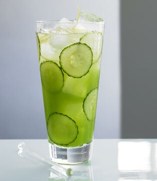 Cucumber Fizz Cocktail  Recipe